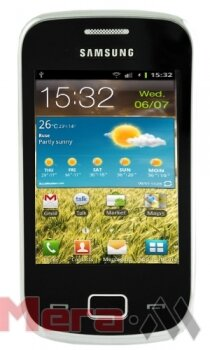 Samsung Galaxy mini 2 S6500 black