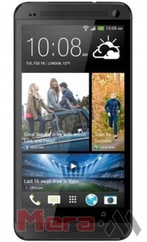 HTC One M7 black 2 sim