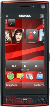 Nokia Х6 WG black-red